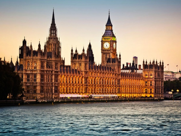Здание Британского Парламента, Лондон, Великобритания, Европа