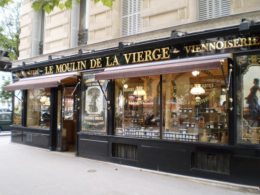 Багеттерия Le Moulin de la Vierge , Париж, Франция, Европа
