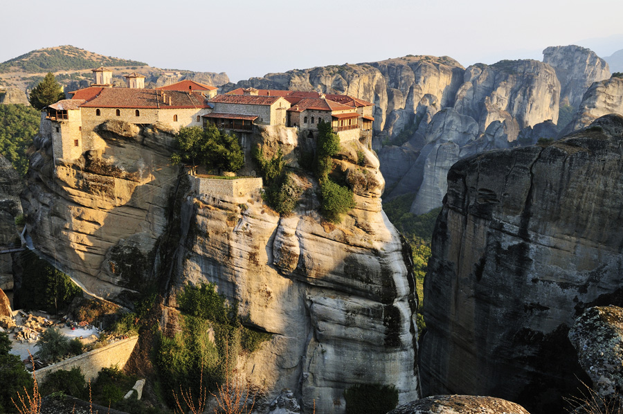 Метеоры, Греция, Европа