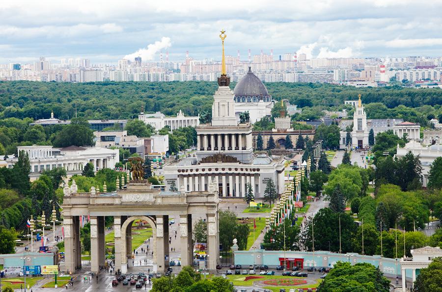 Всероссийский выставочный центр, Москва, Россия, Европа